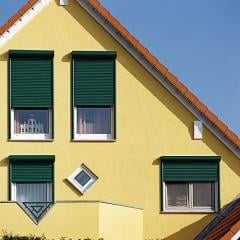 Protective rolleta for private houses, cottages.