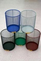 Openwork wastepaper basket, 15 liters (recycle