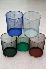 "Корзина для бумаг ""Ажур"", 15 литров (мусорная корзина)"