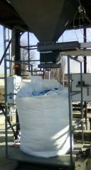 Dosers in soft BIG-BEG AD-1000-B containers from