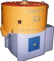 Mixer of the dry mixes CM-0,35