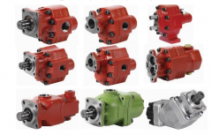Pumps,  hydraulic pumps: gear,  piston, ...