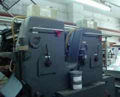 Offset two-colourful machine HD SORMZ