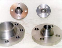 Flanges vorotnikovy on DIN (NS) 2630-2637. Steel