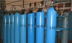 Cylinders oxygen Kiev Filling and delivery of
