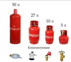 Cylinder propane