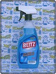 Detergent for glass and surfaces of Blitz Crystal,