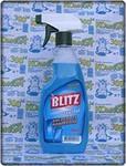 Моющее средство для стекла и поверхностей Blitz Crystal, с дозатором, пластиковая бутылка, 500 мл