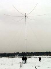 Mast antenna the Pennant series type