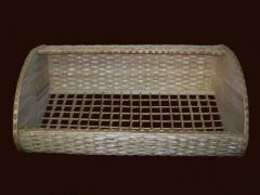 Контейнер хлебный плетеный средний