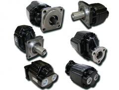 The pump is hydraulic gear, spare parts for special equipment, spare parts for truck cranes
