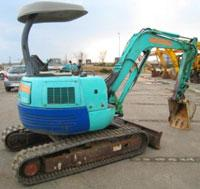 Mini-excavator, Excavator easy IHI IS35JX