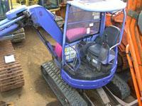 Mini-excavator, Excavator easy KOMATSU PC30UU-3
