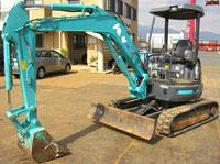 Mini-excavator, Excavator easy KOBELCO SK35SR-3
