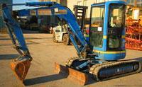 Mini-excavator, Excavator easy KOBELCO SK35SR