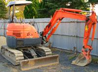 Mini-excavator, Excavator easy HITACHI ZX30U