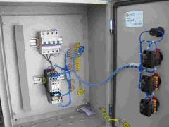 Box (board) of control of asynchronous Ya 5000