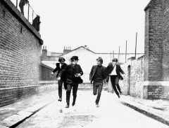 Трехмерное панно Beatles