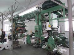 Fleksopechatny 4-colourful machine COMEXI
