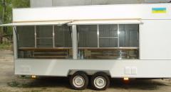 Торговый прицеп Купава 813290 - двухосный прицеп