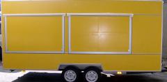 Торговый прицеп Купава 813290w - двухосный прицеп