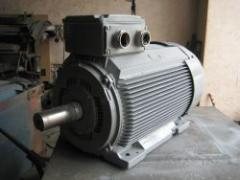 Rewind of electric motors