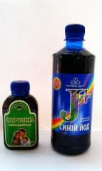 Naturalnoy spirulina and Blue iodine