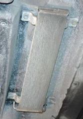 Защита радиатора дизтоплива производства AB-Climat