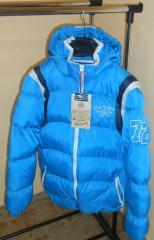 Winter jackets for men. France.