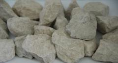 Cubical crushed stone-sandstone