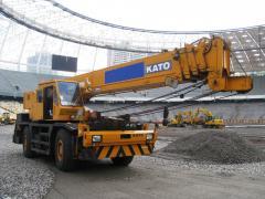 Kato KR35 crane
