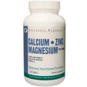 UNIVERSAL NUTRITION Calcium-Zinc-Magn 100 табл