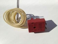 The thermostat capillary 190 C for a deep fryer