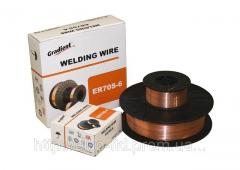 Wire welding copperplated SV08-G2S (ER70S-6) of D