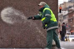 Salt deicing Simferopol | Salt technical in the