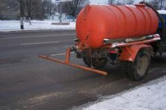 Salt for posypaniye of roads Exactly | Salt