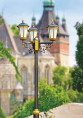 Парковые светильники, опоры, плафоны, фурнитура
