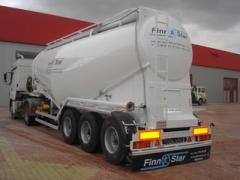 Semi-trailers cement trucks, new, Turkey