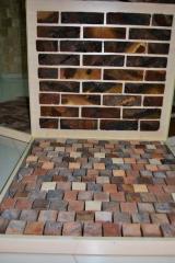 Interior ceramics. Decorative tile of GOTIKA
