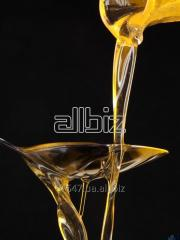 The sunflower oil which is not refined Frozen