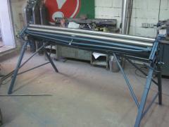 Listogibochny rollers manual BP-D-2000h0,8