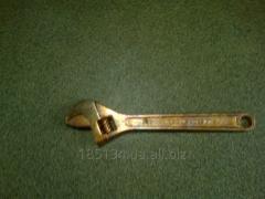 Ключ разводной омедненный КР-19 - КР-46