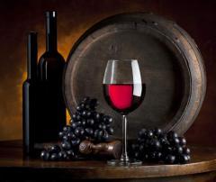 Kiev red dry wine