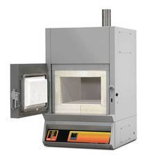 ABF - Laboratory muffle furnaces for burning and ashing with the device of a dozhig of gases