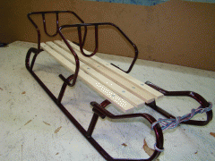 "Sledge for twins of ""TWIN"