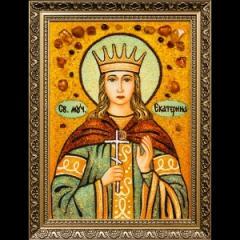 Icon Saint Ekaterina