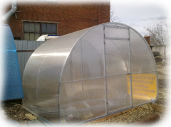 The greenhouse for cottages