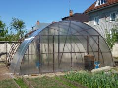 Frameworks of greenhouses