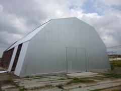 Hangars are ten