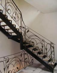 Spiral staircases metal, metal frameworks of